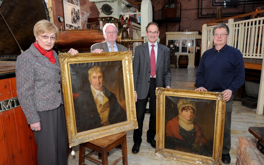 Historic 19th century Worthington portraits will soon be on display