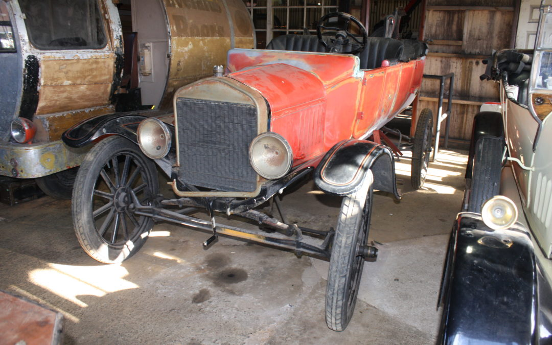 Museum volunteers restore Ford Model T