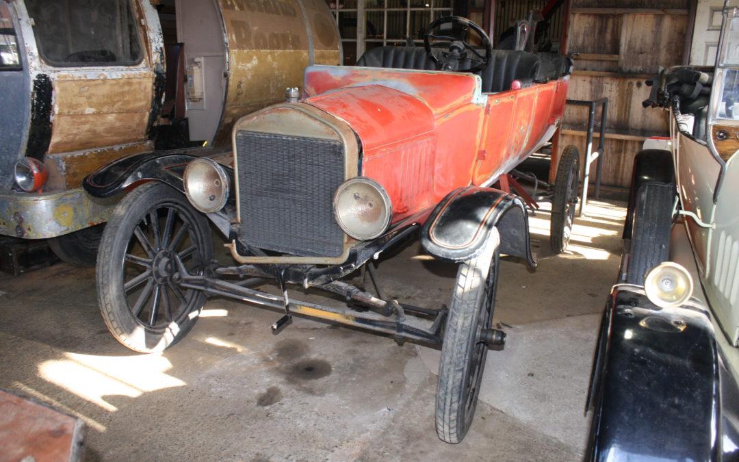 Museum volunteers restore Ford Model T