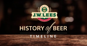 BRINGING THE HISTORY OF BEER TO A HEAD: JW LEES LAUNCHES NEW TIMELINE TO MARK LATEST SEASONAL ALE