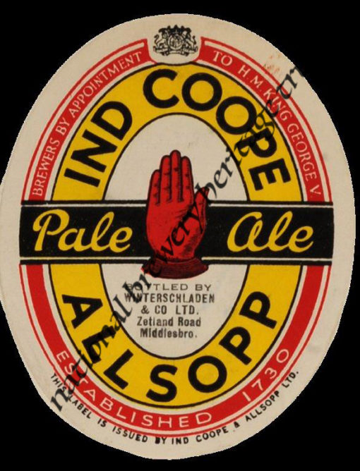 Ind Coope Allsopp Pale Ale