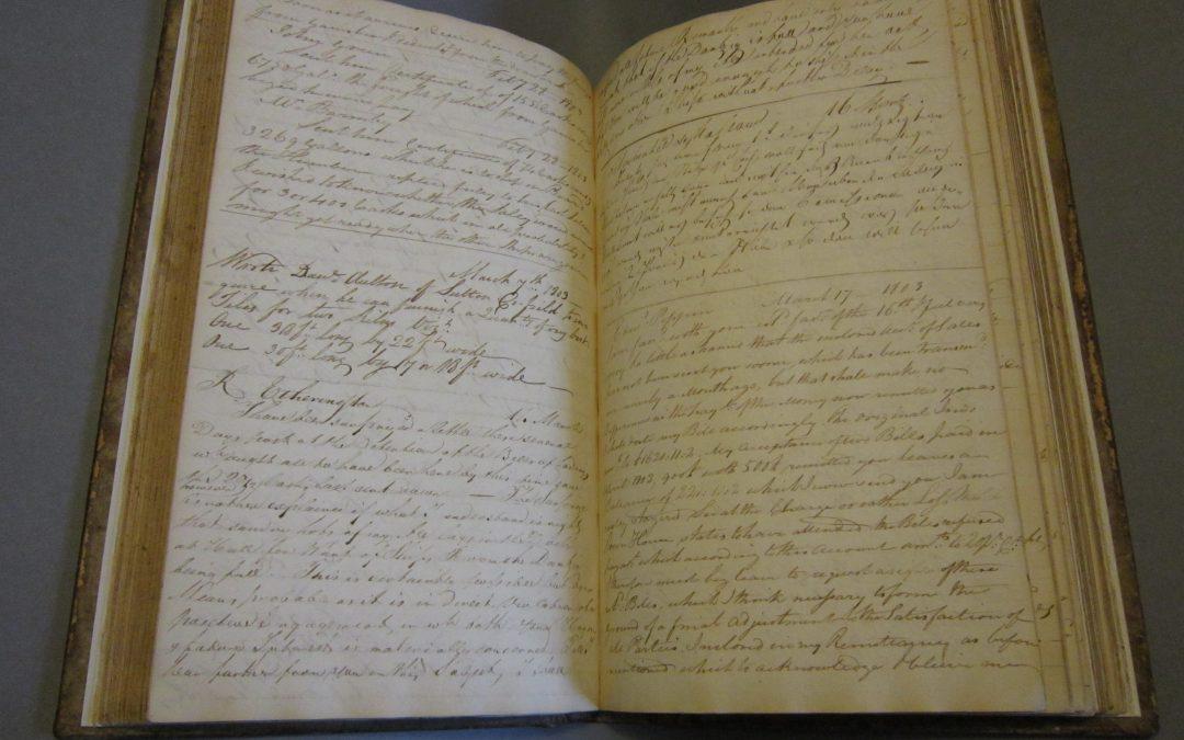 Benjamin Wilson Letterbooks