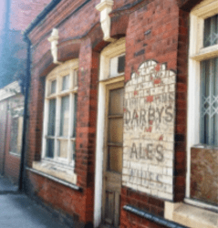 Darby's Ale Sign Saved