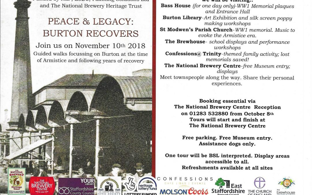 Peace & Legacy: Burton Recovers