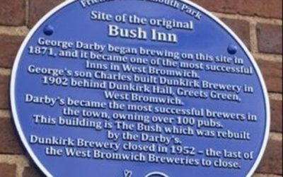 Darby's Blue Plaque